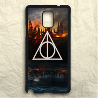 Harry Potter Deathly Hallows Hogwarts Samsung Galaxy Note 3 Case
