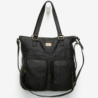 Vans Lie Low Tote Bag Black One Size For Women 25567010001