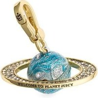 Juicy Couture - Planet Juicy - Gold Plated Charm