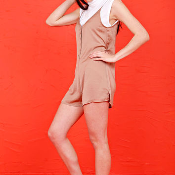 Plan for the Party Romper - Copper