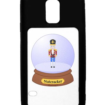 Nutcracker Snow Globe - Red Gold Black Galaxy S5 Case  by TooLoud