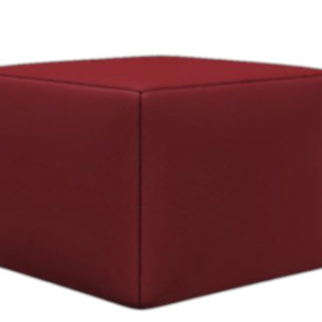 Trento Leather Ottoman by Natuzzi Editions