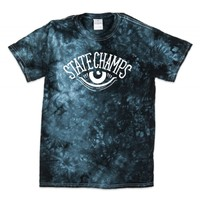 STATE-CHAMPS-EYE-ARCH-TEE-ON-CRYSTAL-BLACK
