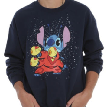 Disney Lilo & Stitch Space Ace Crewneck Sweatshirt