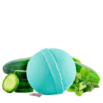 Cucumber Mint | Single Ring Bath Bomb®