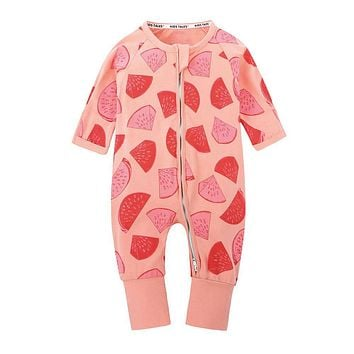 Cute Baby Clothes for Sleeping Pajamas Baby Rompers Clothes for Little Boys Girls Newborn