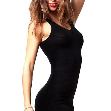Sexy LBD Little Black Mini Dress by KD dance New York Chic, Seductive & Elegant Made In USA