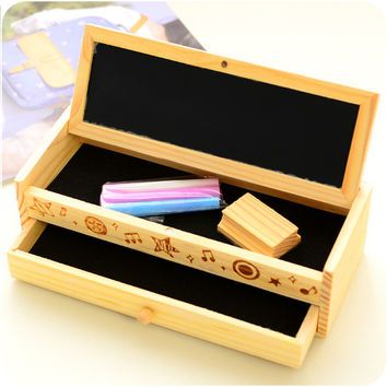 Korean Creative Wooden Pen = 4877860612