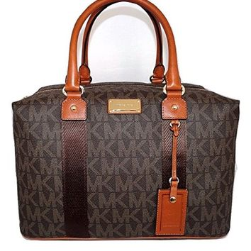 Michael Kors Jet Set Travel Signature Large Weekender/ Carry On Bag
