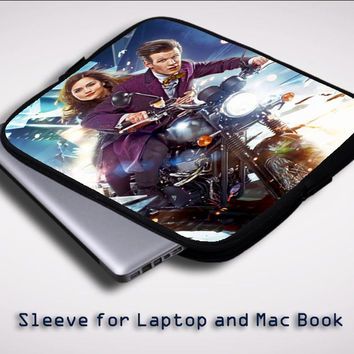 Clara Oswin Oswald Doctor Who  Z0395 Sleeve for Laptop, Macbook Pro, Macbook Air (Twin Sides)
