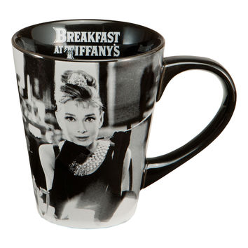 Audrey Hepburn Breakfast Tiffanys Coffee Mug 12 oz