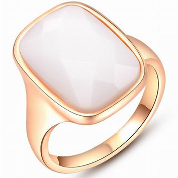Women Zircon Opal Diamond Crystal 18K Gold Plated Punk Retro Finger Ring Engagement Wedding Band Bride Rings Jewelry Gifts = 1930062212