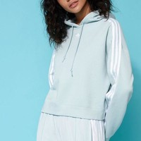 DCCKYB5 adidas Adicolor Green Cropped Hoodie