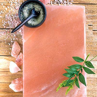 HIMALAYAN SALT PLATTER- COOKING & SERVING - 8″ X 16″
