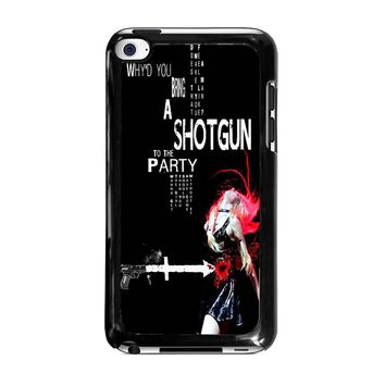 THE PRETTY RECKLESS QUOTES iPod Touch 4 Case Cover