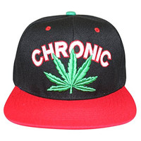Loyal Cloth Weed Marijuana Chronic Snapback Design Cap