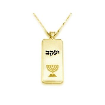 ace51c28cf844 Best Gold Name Tag Necklaces Products on Wanelo