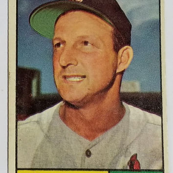 1961 Topps #290 STAN MUSIAL (HOF), Cardinals  - Excellent Shape - SUPERSTAR !!!