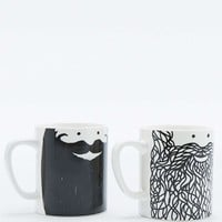 Beardy Mug Set - Urban Outfitters