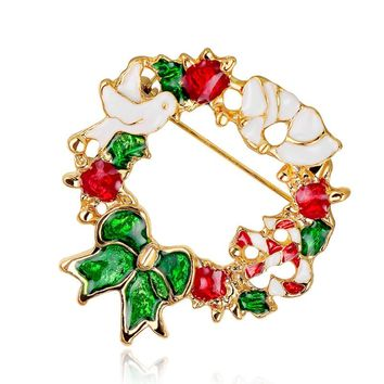 Mulicolor Geometric Shape Anadem Brooch Enamel Pin Brooches For Wedding  Fashion Jewelry African Bride Crown Accessories