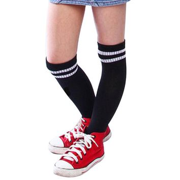 Boys Girls Baseball Socks Children Sport Football socks Long High Sock Kids Running Over Knee Soft Socking Meias meia May30