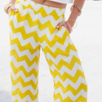 Chevron Palazzo Pants from Che'Mar Limited Closet