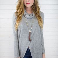 Becca Open Front Knit Sweater