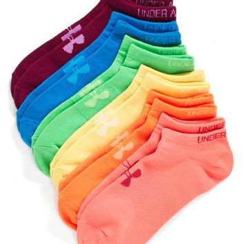Under Armour No-Show Socks (6-Pack) | Nordstrom