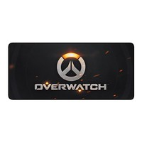 Overwatch gaming keyboard Mouse Pad large size 700*300*3mm Locking Edge Mouse Mat 100 Types