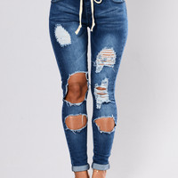 Melly Joggers - Blue