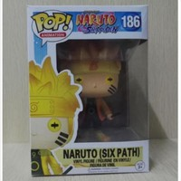 FUNKO POP Naruto six immortal vortex Naruto  #186 hand model doll ornaments 10CM