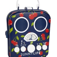 Retro Cherry Design Portable MP3 Beach Boombox by Sunnylife Australia