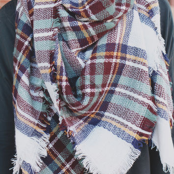Cold Snap Blanket Scarf