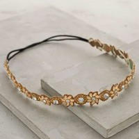 Thistle Street Headband by Deepa Gurnani Gold One Size Hair
