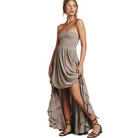 Bohemian Beach Dress Sexy Dresses Boho Summer Maxi Long Backless CottonParty Hippie Chic