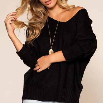 Ethel Sweater - Black