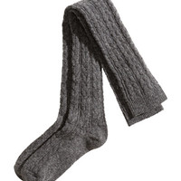 Over-knee Socks - from H&M