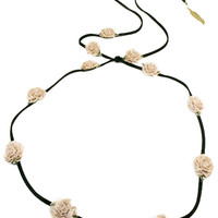 Champagne Marigold/Black Suede Band