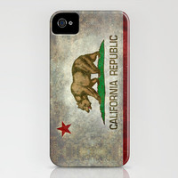 State flag of California iPhone & iPod Case by Bruce Stanfield