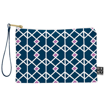 Heather Dutton Annika Diamond Orchid Pouch