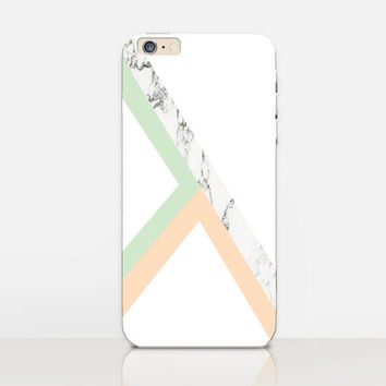Marble Pastel Phone Case  - iPhone 6 Case - iPhone 5 Case - iPhone 4 Case - Samsung S4 Case - iPhone 5C - Tough Case - Matte Case