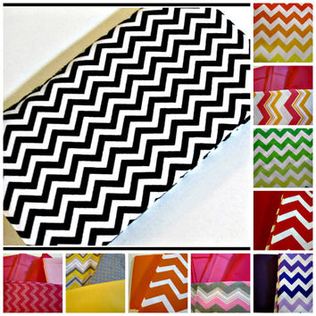 Women's Chevron Checkbook Wallet, Custom Made, Your Color Chevrons, Accessories for Women, Checkbook Covers