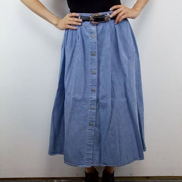 Denim For Days Skirt
