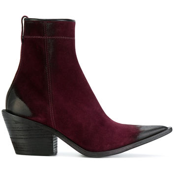 Haider Ackermann Pointed Cowboy Boots - Farfetch