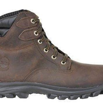Timberland Mens EK Chilberg Mid Boots WP Insulated DK Brown 7855A