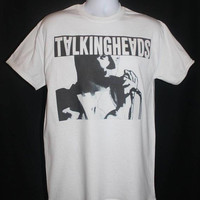 talking heads t-shirt new wave punk 80s 1980s retro hipster indie rock vtg vintage