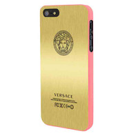 Versace Gold Edition iPhone 5 Case Framed Pink
