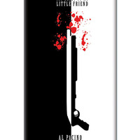 Say Hello To My Little Friend Al Pacino iPhone 5/5S Case | Artist: Abhinav Anand
