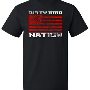 RoAcH Dirty Bird Nation T-shirt | Atlanta Unisex Men's Tee