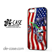 Motocross America Us Flag DEAL-7438 Apple Phonecase Cover For Iphone 5 / Iphone 5S